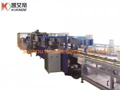 Bus bar manufacturing equipment for bus bar production and installation