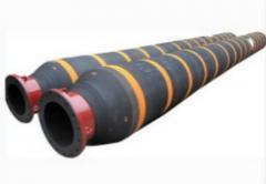 Floating dredge hose