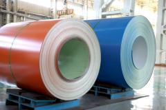 Color coated galvanized steel sheet
