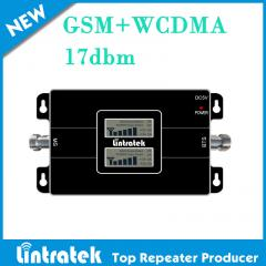 Signal repeater with dual LCD displaying,