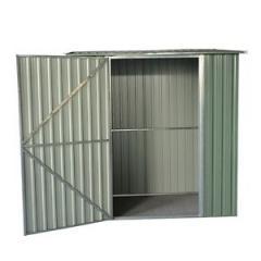 Pent Roof Metal Garden Shed