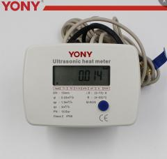 Household mechanical heat meter ,ultrasonic heat