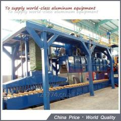 SAVE high efficient aluminum extrusion air and water spray cooling quenching unit