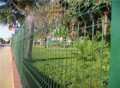 Welded Wire Panel Fence