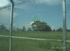 Serried Vertical Wire