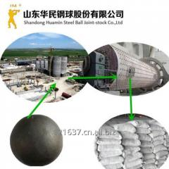 Cement plant use grinding media steel balls for