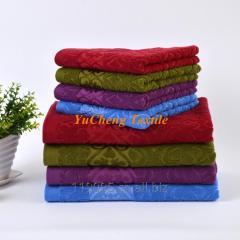 YuCheng factory supply cotton bath towel