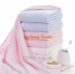 Muslin cotton baby bath towel from China