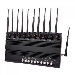 Adjustable High Power Signal Jammer GSM CDMA 3G 4G LET VHF UHF 800W 7Bands