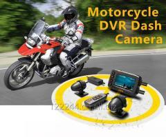 HFK waterproof motorcycle dvr with GPS track