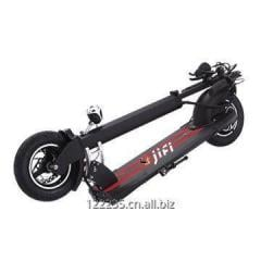 Two wheel foldable electric kick scooter with seat