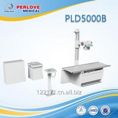 Cheapest 500mA X ray machine PLD5000B with bucky stand