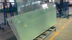 Silk Screen Tempered Insulated Laminated Glass