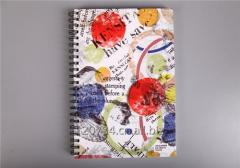 Hard Cover with Double Spiral Bound Notebook