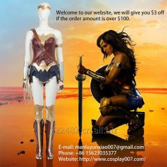 ManLuYunXiao Wonder Woman Cosplay Costume Superhero Adult Outfit Custom Made For Woman