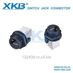 Waterproof RJ45 connector, waterproof connector IP67