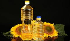 REFINED DEODORIZED SUNFLOWER OIL. PET Bottle 4,6 liter