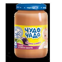 Apple-plum puree with sugar  Chudo-chado 0,170 l