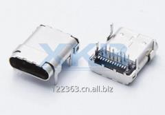 Usb3.1 splint motherboard Type-c female