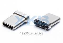 USB3.1 male TYPE-C connector