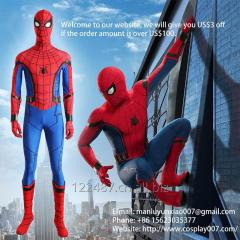 ManLuYunXiao The Spider Man Cosplay Costume Jumpsuit For Men Custom Made