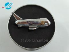 航空礼品高档金属签字笔定制logo