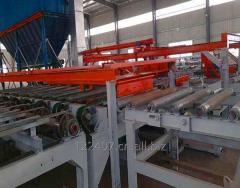 Gypsum powder line machinery