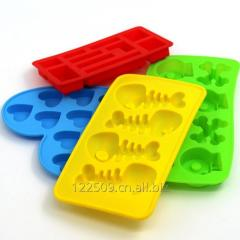 2017 Popular dog bone shape or other different Shape silicone ice cube tray