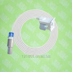 Compatible with Redel 7PIN BCI 3100,3101, 6100,9100,Autocor,MiniTorr Oximeter monitor the Pediatric finger clip spo2 sensor.