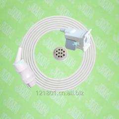 Compatible with 10PIN Datex-Ohmeda Oximeter monitor the OXY-F4-N Child finger clip spo2 sensor.
