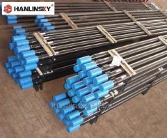 Drill pipes for rock drills, Tophammer, Thread R32, T38, T45, T51