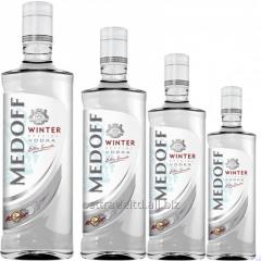 "Vodka ""Medoff Inverno vodka"""