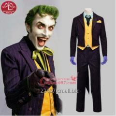 ManLuYunXiao Batman Arkham Asylum Joker Costume For Man Halloween Cosplay Costume