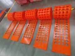 Полиуретановые сита (просеивающие панели)
