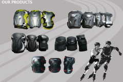 滑板,滑冰,冰球护具运动组合护具自行车护具保护膝盖肘部手掌运动护具
