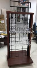 HIGH CLASSICAL WINE DISPLAY SHOWCASE FOR SALE