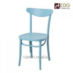 664-H45-ALU bistro metal chair