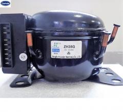 DC 12/24V Power refrigeration compressor with capacity 2.5 to 6.5 cm3
