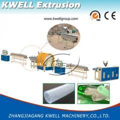 PVC纤维增强软管挤出线/塑料挤出机