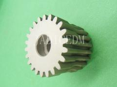 Geared wheel EDM Wire EDM spare part