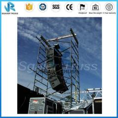Aluminum Adjustable H Shape Scaffolding Ladder Truss System