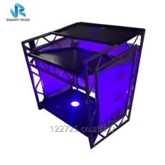 NightClub KTV Bar DJ Booth with Portable Design and Customized Logo and Colour