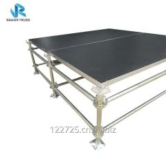 Metal Layer Stage Platform with Anti-slip Surface for Wedding