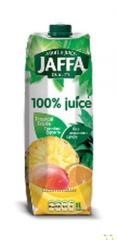 Juice 100% Jaffa. Multifruit 1L. Origin - Ukraine