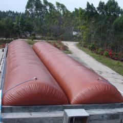 New designed and efficient home biogas tank
