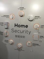 Wireless smoke alarm system UL217 standard home security system