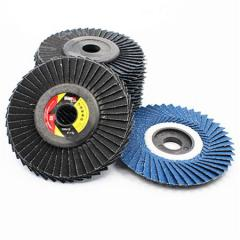 4INCH KINGSBA BLUE ALUMINUM OXIDE RADIAL FLAP DISC WHOLESALER