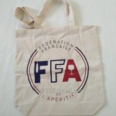 Factory wholesale fashion printing cotton tote bag for promotion