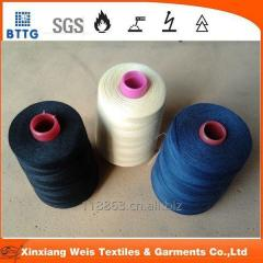 fire resistant aramid sewing thread