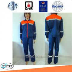 flame retardant antistatic cotton FR jacket and pants